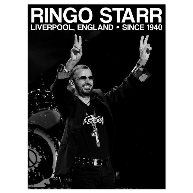 Ringo Starr Starr Photo Litho 18x24""