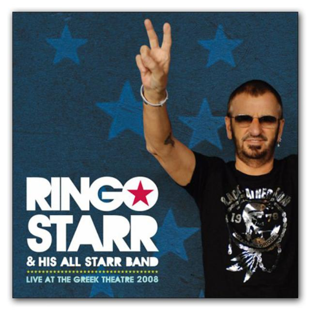 Ringo Starr Ringo: Live At the Greek Theatre CD, 2008