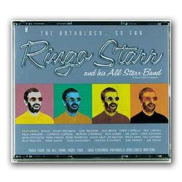 Ringo Starr Ringo Anthology - So Far 3 CD Set