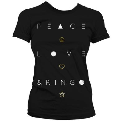 Ringo Starr PLR Foil Babydoll T-Shirt