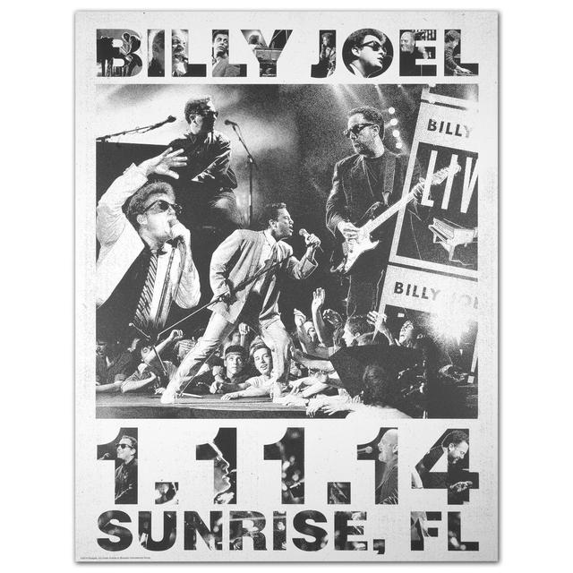 Billy Joel Propaganda Poster 1.11.14