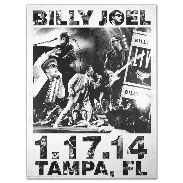 Billy Joel Propaganda Poster 1.17.14