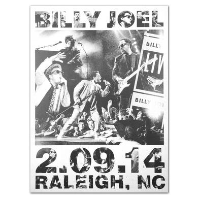 Billy Joel Propaganda Tour Lithograph 2.09.2014