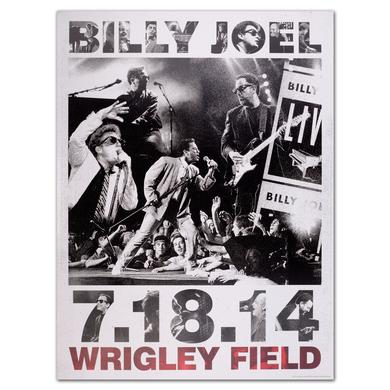 Billy Joel Wrigley Propaganda Litho