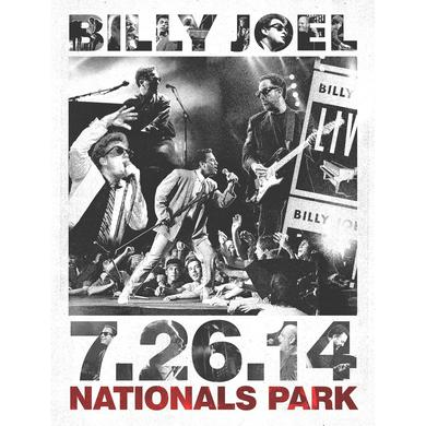 Billy Joel Nationals Propaganda Litho