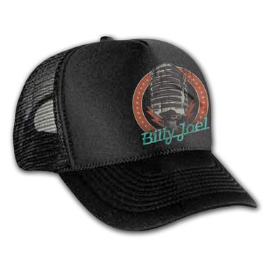 Billy Joel Microphone Trucker Hat