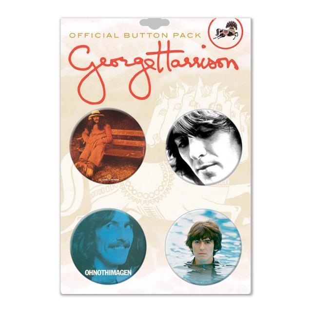 George Harrison Portrait Pin Set