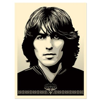 George Harrison Poster For George Silver Edition