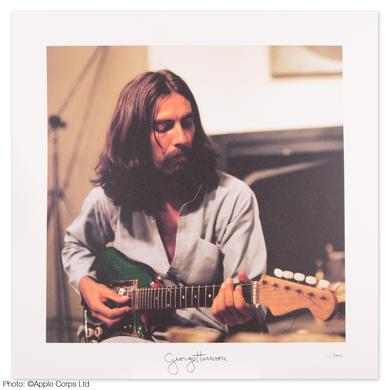 George Harrison Guitar Litho