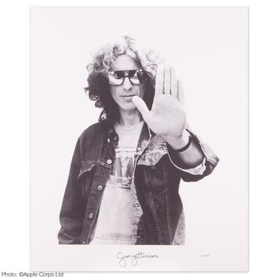 George Harrison Hand Litho