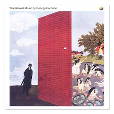 George Harrison Wonderwall Litho