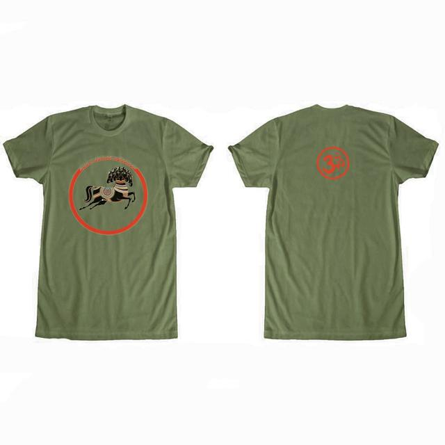 George Harrison Dark Horse Records Logo (Olive) T-Shirt