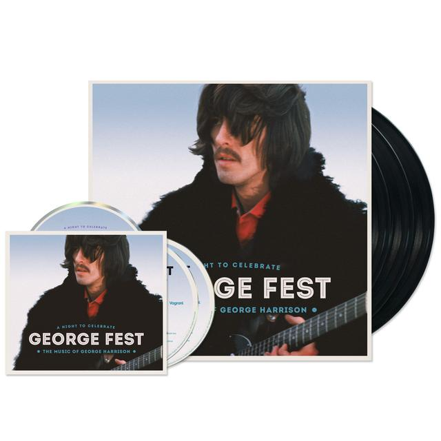 George Harrison George Fest Bundles (2 CD/DVD + 3xLP)
