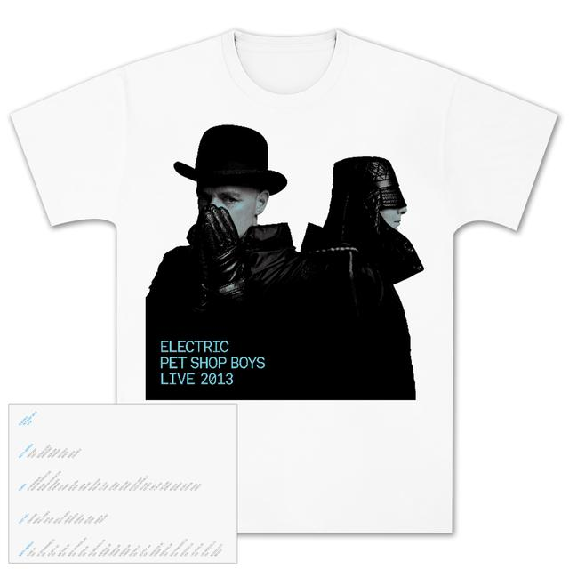 Pet Shop Boys Electric Portrait T-Shirt