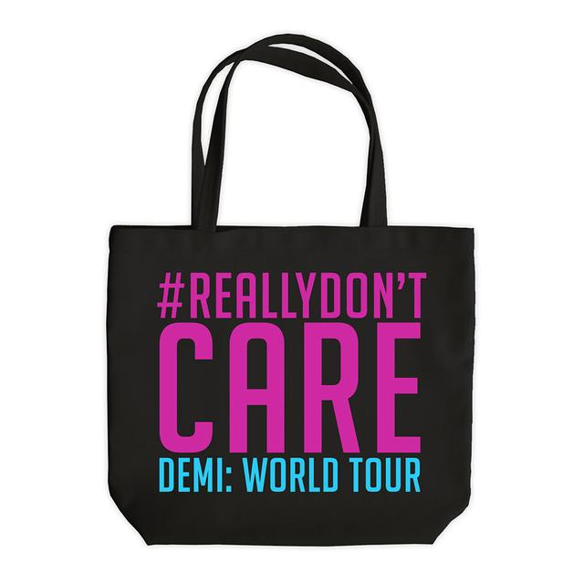 Demi Lovato Really Don't Care Tote Bag