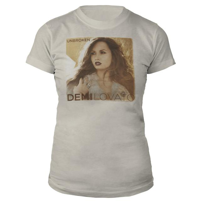 Demi Lovato Unbroken Album Cover Babydoll T-Shirt