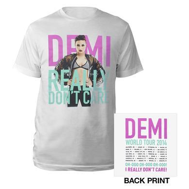 Demi Lovato Really Don't Care Tour Shirt