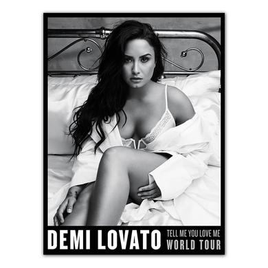 Demi Lovato TMYLM World Tour Poster