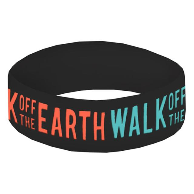 Walk Off The Earth Logo Wrist Band