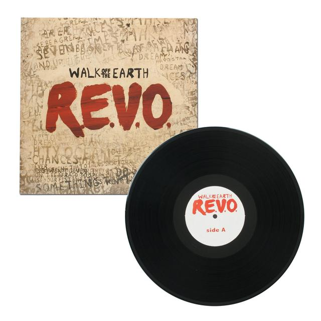 Walk Off The Earth R.E.V.O Vinyl Album