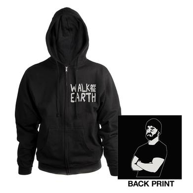 Walk Off The Earth Bearded Man Hoodie