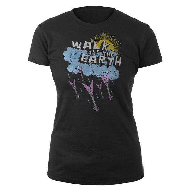 Walk Off The Earth Raining Guitars Jrs. Tee