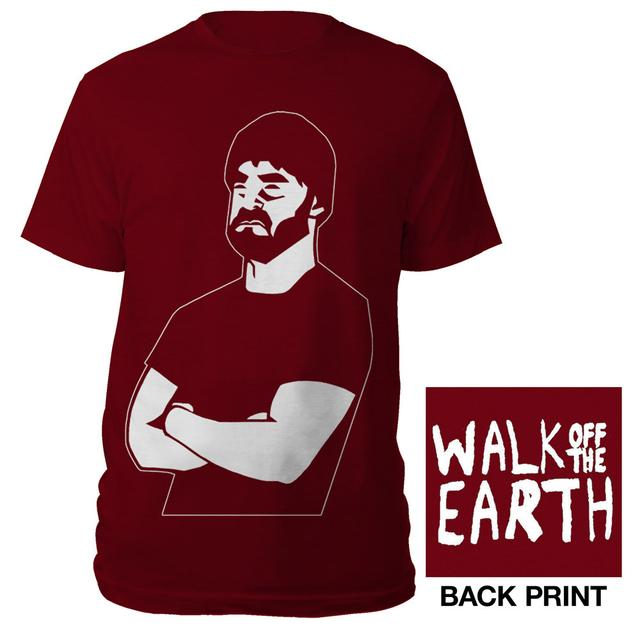 Walk Off The Earth Cardinal Bearded Man T-shirt
