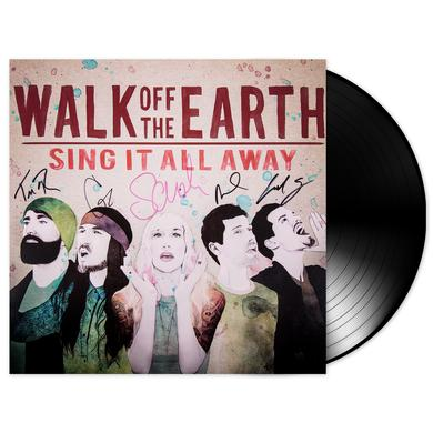 Walk Off The Earth AUTOGRAPHED Sing It All Away Vinyl Album