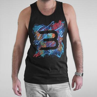 3LAU Splatter Tank - Men's