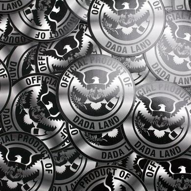 Dada Life DADA LAND CREST STICKERS