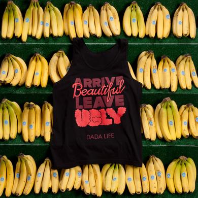 Dada Life ARRIVE BEAUTIFUL LEAVE UGLY TANK TOP // BLACK