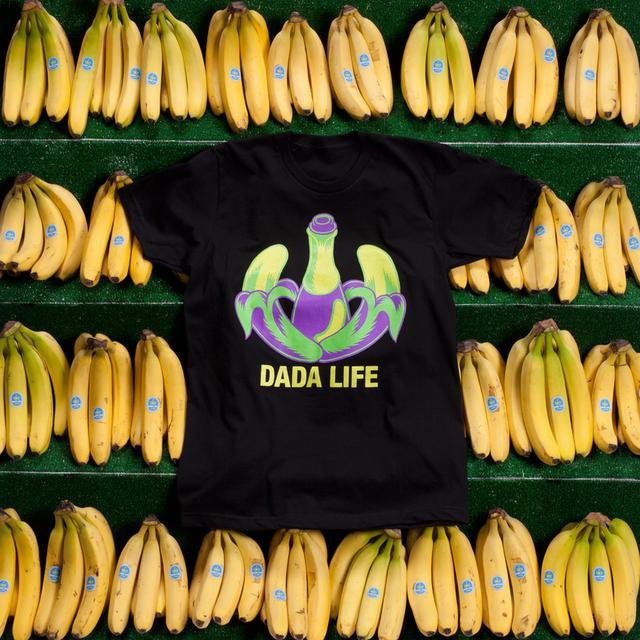 DADA LIFE LOGO TEE // BLACK/GREEN