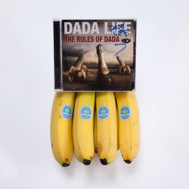 "Dada Life ""THE RULES OF DADA""  SIGNED CD"