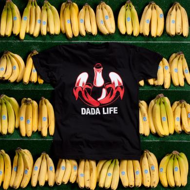 DADA LIFE LOGO TEE // BLACK/RED