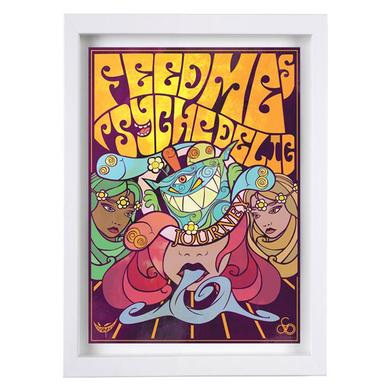 Feed Me Psychedelic Journey Fine Art Print