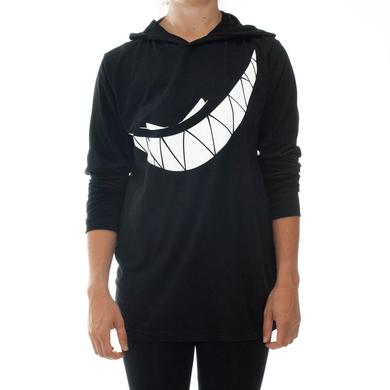 Feed Me Hooded Shirt // Teeth