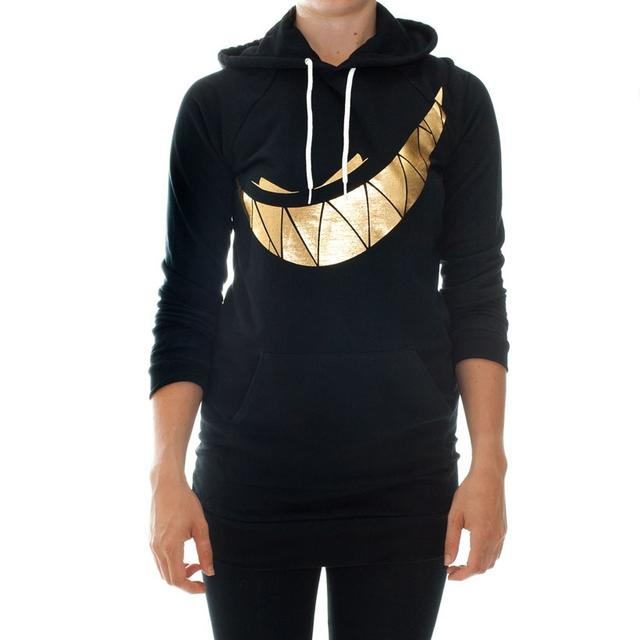 Girl's Feed Me Hoodie // Gold Teeth