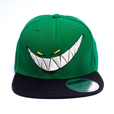 Feed Me Hat // Green Snapback Teeth