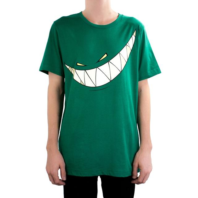 Feed Me Shirt // Green Teeth