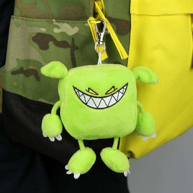 Feed Me Green Monster Plush Toy