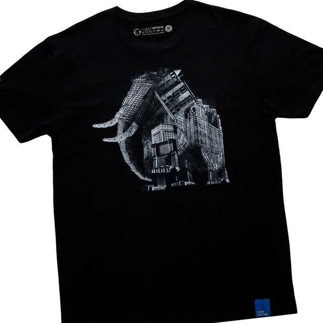 "Claude Vonstroke Urban Animal Elephant T-Shirt + ""RMXS"" Pack Download"