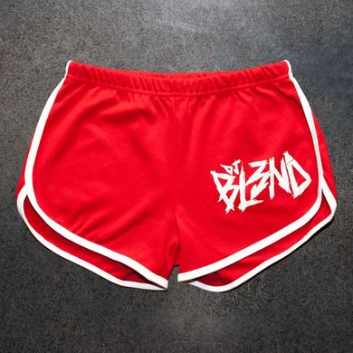 DJ Bl3Nd GIRLS RUNNING SHORTS