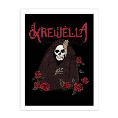 Krewella | Skull Veil Print