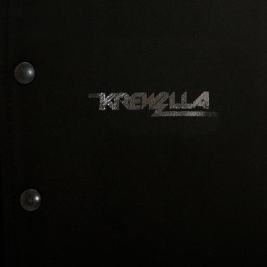 Krewella LIMITED EDITION KILLIN' IT BEAR WITH CHAIN VARSITY JACKET
