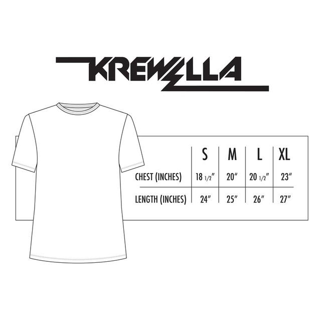 KREWELLA // DOPEST DOPE GOLD FOIL TEE