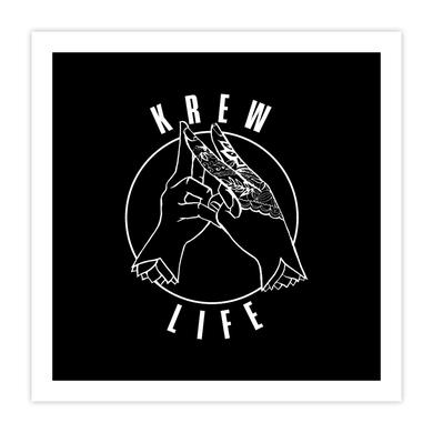 Krewella | Emblem Print