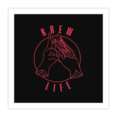 Exclusive Krewella Krew Life Art Print