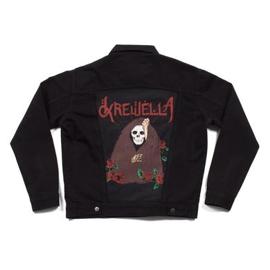 Krewella | Skull Veil Denim Jacket