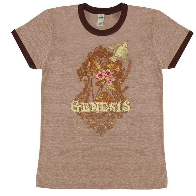 Brown Genesis Growth Jr. Ringer Tee