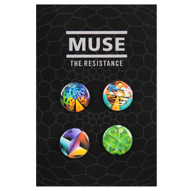 Muse Album Button Set